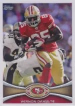 2012 Topps SP Photo Variation Vernon Davis