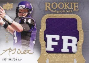 2011 Upper Deck Exquisite Football Andy Dalton
