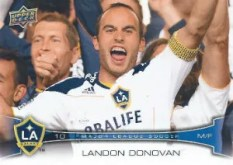 2012 Upper Deck MLS Landon Donovan Base Card