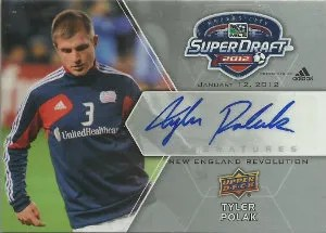2012 Upper Deck MLS Super Draft Autograph #SDS-TP Tyler Polak