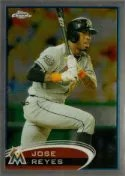 201 Topps Chrome Jose Reyes Base Card #75