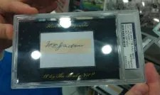 2012 Historic Autographs Joe Jackson Cut