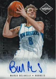 2011-12 Panini Limited Potential Autograph #5 Marco Belinelli #/99