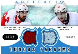 2012-13 UD Artifacts Tundra Tandems