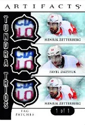 2012-13 Upper Deck Artifacts Tundra Trios