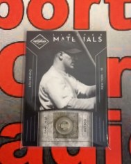 2012 Panini Limited Materials Buttons Lou Gehrig Card #1/2