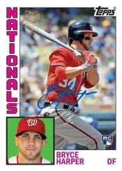 2012 Topps Archives Bryce Harper Autograph