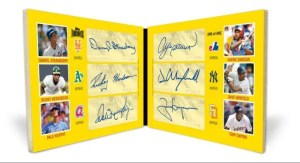 2012 Topps Archives Book Card Autograph