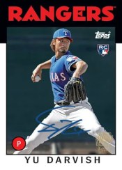 2012 Topps Archives Yu Darvish Autograph