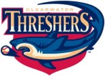 Clearwater Threshers Team Logo