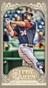 2012 Topps Gypsy Queen Bryce Harper Mini National Wrapper