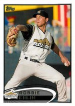2012 Topps Pro Debut Robbie Erlin Base