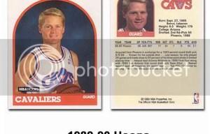 1989-90 Hoops Steve Kerr Rookie RC Card