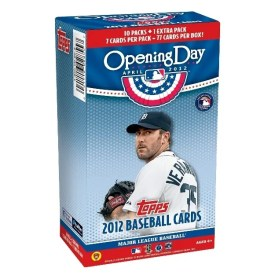 2012 Topps Opening Day Justin Verlander Box