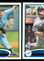 2012 Topps Series 2 Clayton Kershaw Base