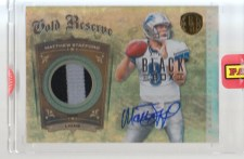 2012 Panini Black Box Matthew Stafford Gold Standard 1/1