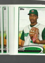 2012 Topps Pro Debut Keyvius Sampson Base