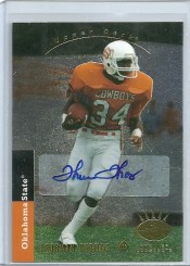 2012 Upper Deck Thurman Thomas SP Autograph