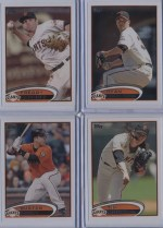 2012 Topps Series 2 Buster Posey Base Card