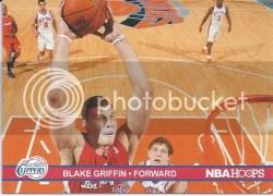 11-12 Panini NBA Hoops Blake Griffin Action Photos