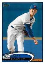 2012 Topps Pro Debut Matt Harvey Base