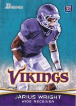 2012 Bowman Jarius Wright Base Variation