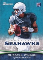 2012 Bowman Russell Wilson Sp Variations