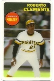 2012 Topps Archives Roberto Clemente 3D Insert Card #633D-RCL