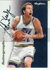 1996-97 SkyBox Premium Autographics Adam Keefe