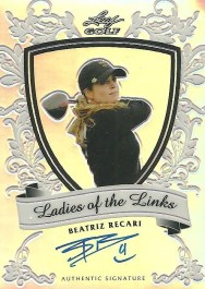 2012 Leaf Metal Golf Beatriz Recari Ladies Of The Links Autograph Card