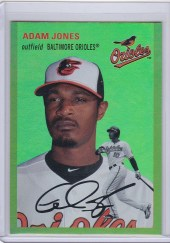 2012 Topps Archives Adam Jones Gold Parallel