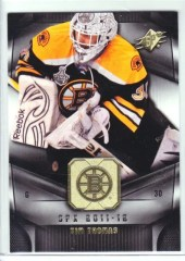 Tim Thomas 11/12 Upper Deck SPx Base Card