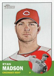 2012 Topps Heritage Ryan Madson Base Card
