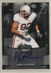 2012 Leaf Metal Draft Cody Fleener Autograph