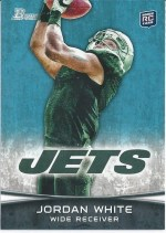 2012 Bowman Jordan White Sp Variation RC