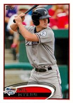 2012 Topps Pro Debut Wil Myers Base