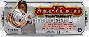 2012 Topps Museum Collection Baseball Hobby Box