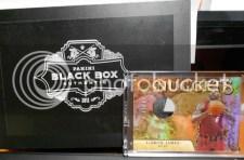 2012 Panini Black Box LeBron James Gold Standard 1/1