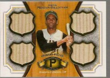 2012 Topps Museum Collection Roberto Clemente Quad Bat