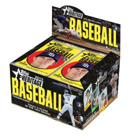 2012 Topps Heritage Baseball Retail Box