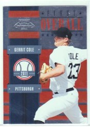 2011 Panini Contenders Gerrit Cole First Overall