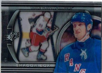 2011-12 Upper Deck SPx Shadowbox Wayne Gretzky Card #SB-1