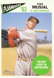 2012 Topps Heritage Baseball Flashbacks Stan Musial