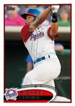 2012 Topps Pro Debut Michael Choice