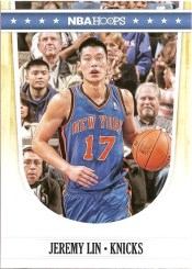 2011-12 Panini Hoops Jeremy Lin Knicks Card