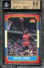 1986-87 Fleer Michael Jordan RC