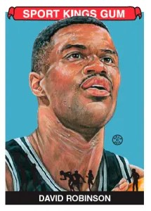 2012 Sportkings Series E David Robinson Base Card