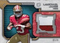 2012 Topps Strata LaMichael James Rookie Jersey