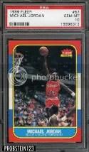 1986-87 Fleer Michael Jordan RC PSA 10