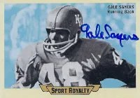 2012 Upper Deck Goodwin Gale Sayers Roylaty